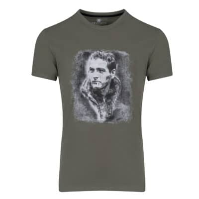 Prince Oliver T-Shirt Λαδί NewMan 100% Cotton- Collection A/W